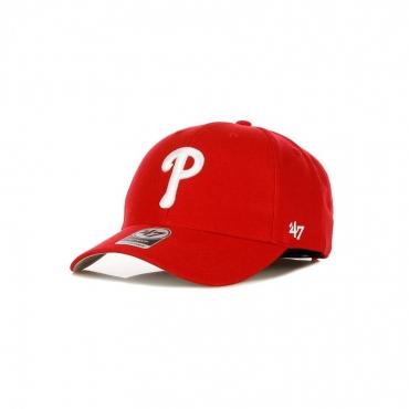CAPPELLINO VISIERA CURVA MLB MVP PHIPHI RED