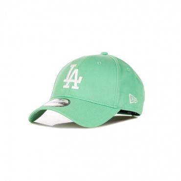 CAPPELLINO VISIERA CURVA MLB LEAGUE ESSENTIAL 940 LOSDOD LIGHT GREEN/WHITE