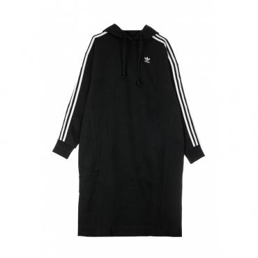 VESTITO HOODIE DRESS BLACK