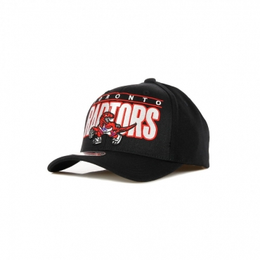 CAPPELLINO VISIERA CURVA NBA BILLBOARD REDLINE CLASSIC STRETCH SNAPBACK HARDWOOD CLASSICS TORRAP BLACK/ORIGINAL TEAM COLORS