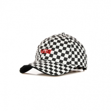 CAPPELLINO VISIERA CURVA HIGH STANDARD HAT BLACK/WHITE CHECKERBOARD