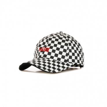 CAPPELLINO VISIERA CURVA HIGH STANDARD HAT BLACK/WHITE CHECKERBOARD
