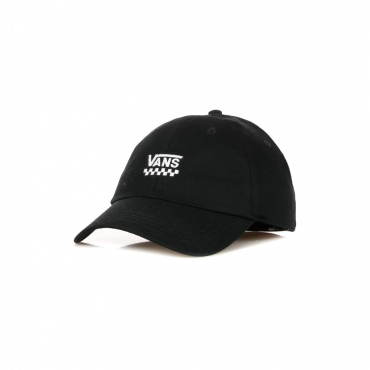 CAPPELLINO VISIERA CURVA COURT SIDE HAT BLACK CHECKERBOARD