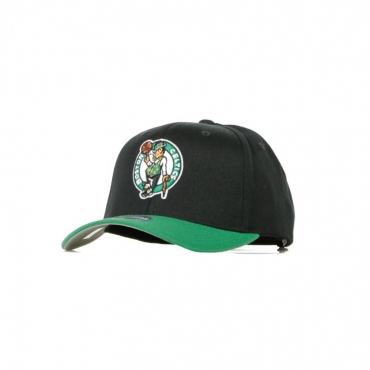 CAPPELLINO VISIERA CURVA NBA 2 TONE 110 SNAPBACK BOSCEL BLACK/ORIGINAL TEAM COLORS