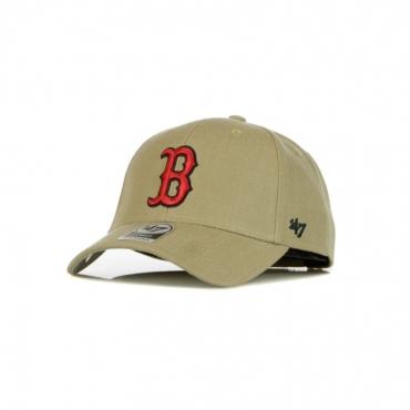 CAPPELLINO VISIERA CURVA MLB MVP BOSRED KHAKI/ORIGINAL TEAM COLORS
