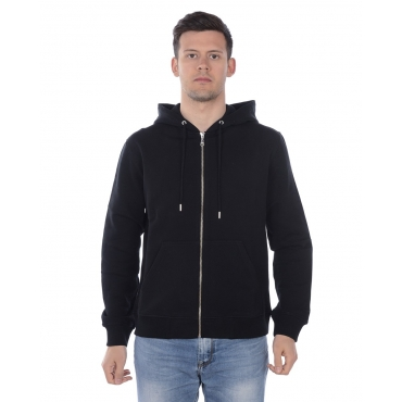 FELPA TIGER ZIPPED SWEATSHIRT NERO