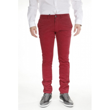 PANTALONI MADE IN CHINA ROSSO