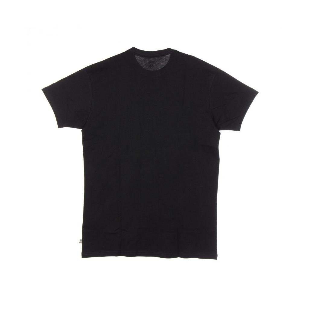 VESTITO CENTER VEE TEE DRESS BLACK