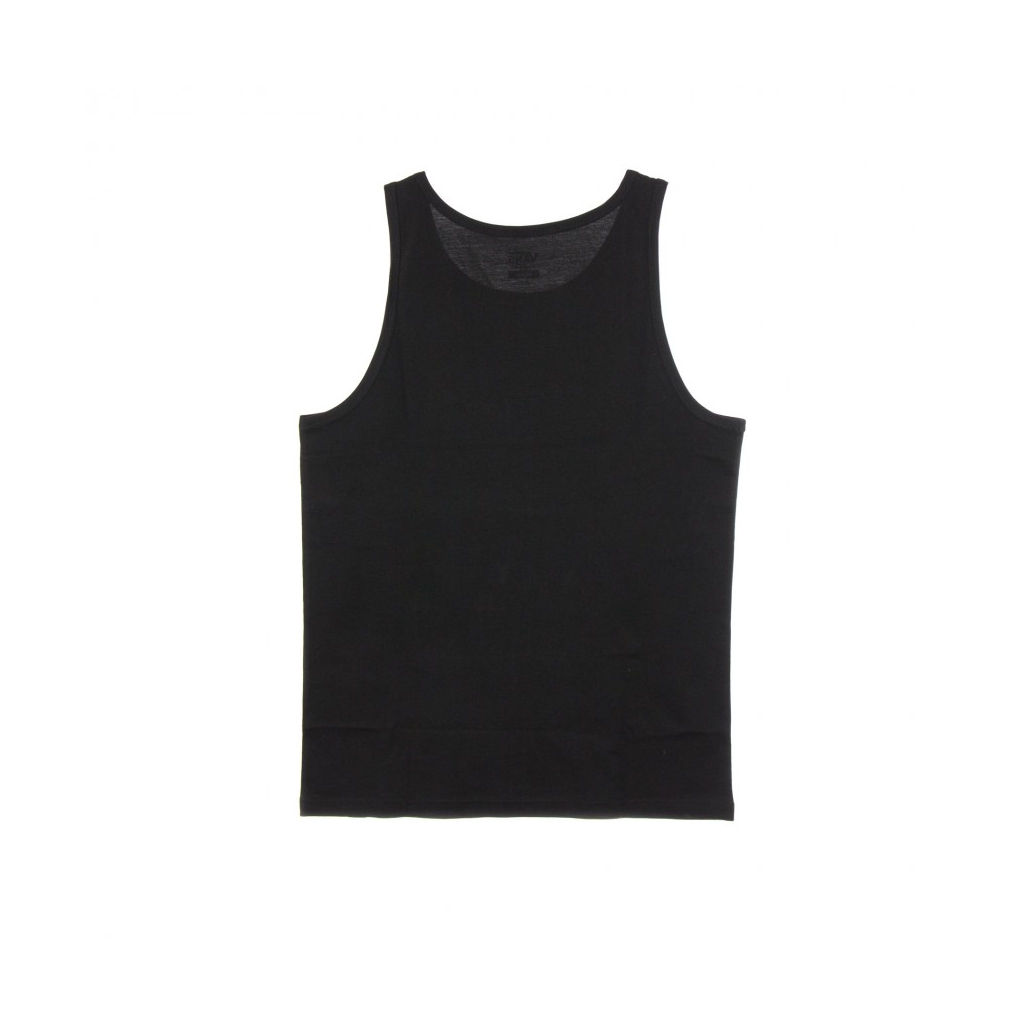CANOTTA CLASSIC TANK BLACK/WHITE