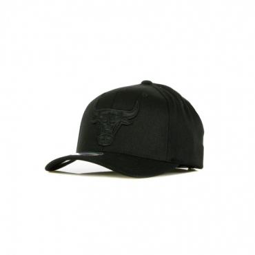 CAPPELLINO VISIERA CURVA NBA BLK/WHT LOGO 110 CHIBUL BLACK/BLACK