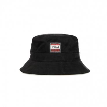 CAPPELLO DA PESCATORE BLANK BUCKET HAT BLACK