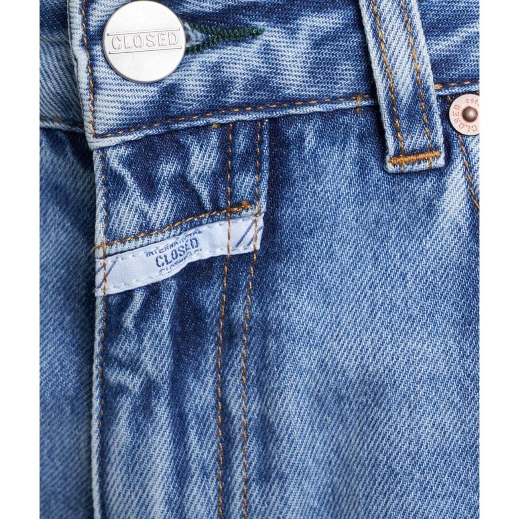 Highwaist short Azra blu