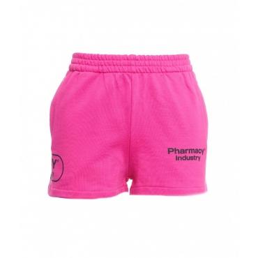 Short in felpa pink