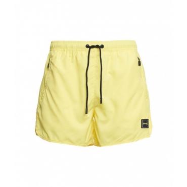 Pantaloncini da bagno giallo