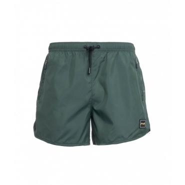 Pantaloncini da bagno verde scuro