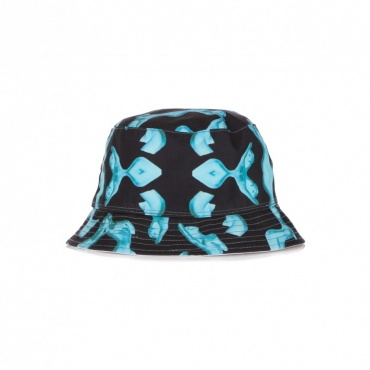 CAPPELLO DA PESCATORE HER REVERSIBLE BUCKET HAT BLACK