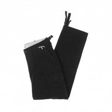 PANTALONE LUNGO FATIGUE CARGO PANT BLACK