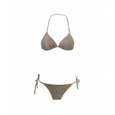 Bikini Triangolo e slip brasiliano oliva