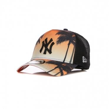 CAPPELLINO VISIERA CURVA UOMO MLB SUMMER CITY TRUCKER NEYYAN MULTI/BLACK