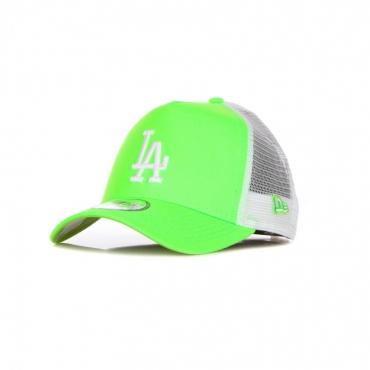 CAPPELLINO VISIERA CURVA UOMO MLB TONAL MESH TRUCKER LOSDOD GREEN SHOCK/WHITE