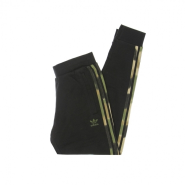 PANTALONE TUTA LEGGERO UOMO CAMO STRIPES SWEAT PANT BLACK/WILD PINE/MULTI