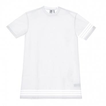 VESTITO DONNA TEE DRESS WHITE
