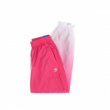PANTALONE LUNGO DONNA 3D TREFOIL TRACKPANTS REAL MAGENTA/HALO BLUE
