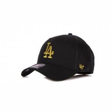 CAPPELLINO VISIERA CURVA UOMO MLB BRANSON METALLIC MVP LOSDOD BLACK/GOLD