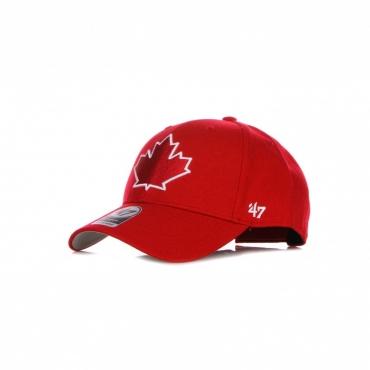 CAPPELLINO VISIERA CURVA UOMO MLB MVP TORBLU RED/WHITE