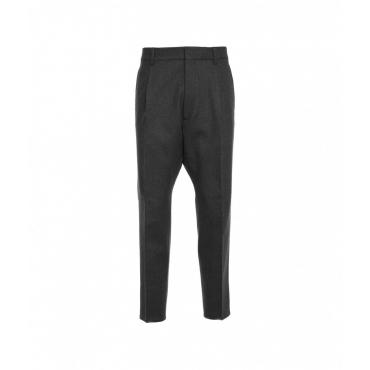 Pantalone 1 Pleat Aviator grigio scuro