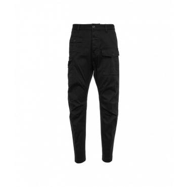 Pantalone Sexy Cargo Fit nero