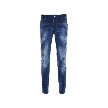 Skater Jean blu