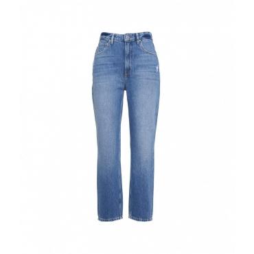 Jeans Len blu