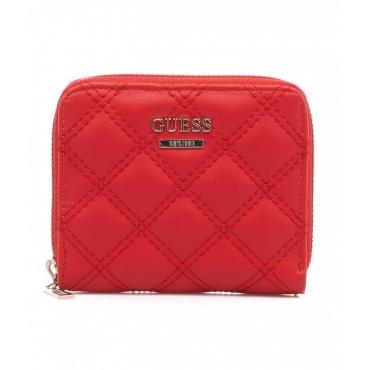 Mini portafoglio Cessily rosso