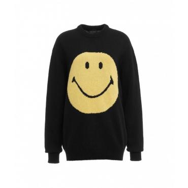 Sweater Smiley nero