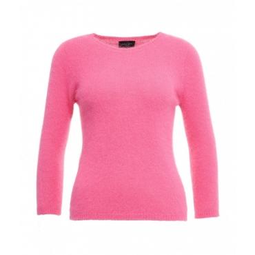 Maglione in maglia leggera pink