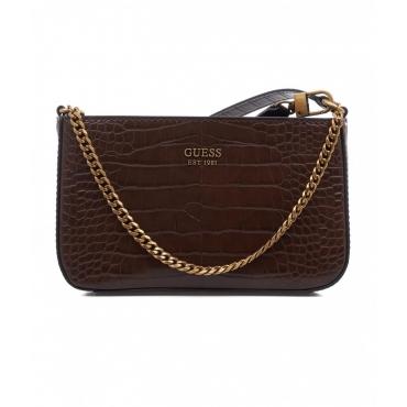 Mini borsa Katey Mini marrone scuro