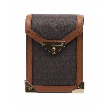 Mini borsa Grace marrone scuro