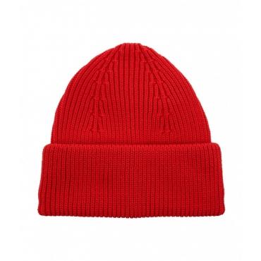 Cappellino a maglia rosso