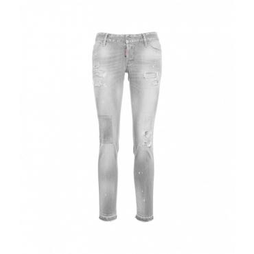 Jeans Jennifer grigio chiaro