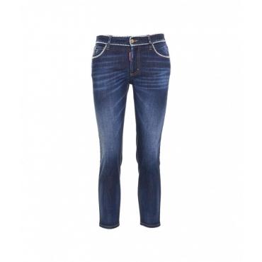 Jeans Twiggy blu