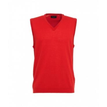Maglione in lana rosso