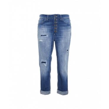 Jeans Koons Gioiello blu
