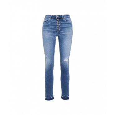 Jeans Iris Bot Gioiello blu
