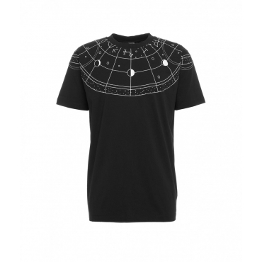 T-shirt Semi Astral Regular nero