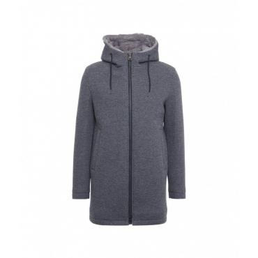 Cappotto con fodera grigio