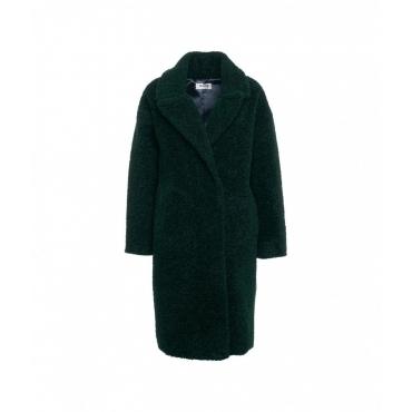 Cappotto in pelliccia eco verde