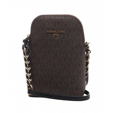 Phone Crossbody Bag marrone
