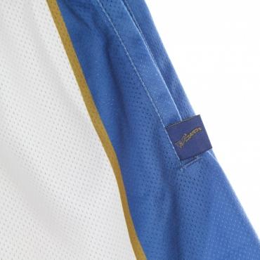 PANTALONCINO TIPO BASKET UOMO NBA BIG FACE BLOWN OUT FASHION SHORT HARDWOOD CLASSICS WASWIZ WHITE/ORIGINAL TEAM COLORS