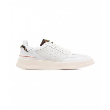 Sneaker Tweener Low Leat Pile bianco